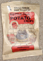 Chile Today-Hot Tamale Kettle Style Habanero Cajun Potato Chips