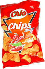 Chio Chips Hot Peperoni
