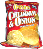 Chipitos Cheddar & Onion Tortilla Chips