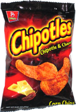 Chipotles Chipotle & Cheese Corn Chips
