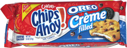 Chewy Chips Ahoy! Oreo Cr�me Filled