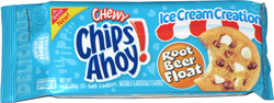 Chewy Chips Ahoy! Ice Cream Creations Root Beer Float