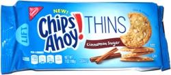Chips Ahoy! Thins Cinnamon Sugar