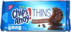 Chips Ahoy Thins Double Chocolate