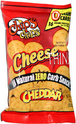 Chip's Chips Cheese Thins Cheddar