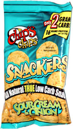 Chip's Chips Sour Cream & Onion Snackers