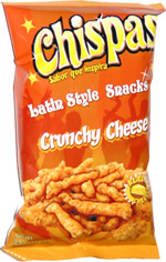 Chispas Latin Style Snacks Crunchy Cheese