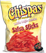 Chispas Latin Style Snacks Salsa Sticks