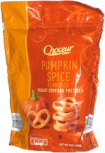 Choceur Pumpkin Spice Flavored Yogurt Covered Pretzels