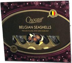 Choceur Belgian Seashells