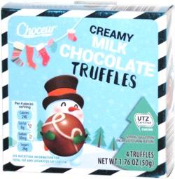 Choceur Creamy Milk Chocolate Truffles