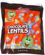 Lieber's Chocolate Lentils