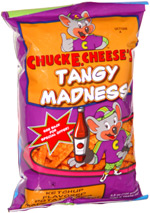 Chuck E. Cheese's Tangy Madness Ketchup Flavored Potato Fries