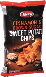 Clancy's Cinnamon & Brown Sugar Sweet Potato Chips