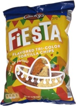 Clancy's Fiesta Flavored Tri-color Tortilla Chips