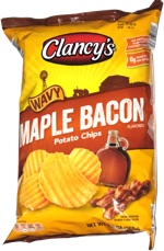 Clancy's Wavy Maple Bacon Potato Chips