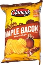 Clancy's Wavy Maple Bacon Potato Chips