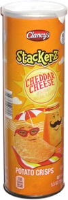 Clancy's Stackerz Cheddar Cheese Potato Crisps