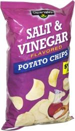 Clover Valley Salt & Vinegar Potato Chips