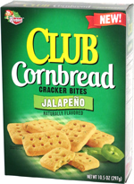 Keebler Club Cornbread Cracker Bites Jalapeño