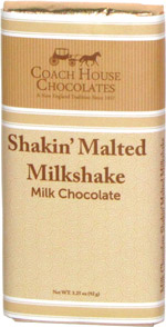 Coach House Chocolates Shakin' Malted Milkshake Milk Chocolate