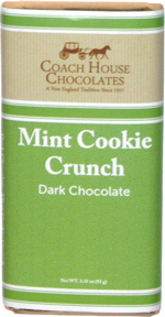 Coach House Chocolates Mint Cookie Crunch Dark Chocolate