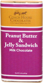 Coach House Chocolates Peanut Butter & Jelly Sandwich Milk Chocolate