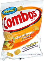 Combos Cheeseburger Cracker