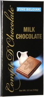 Compte D'Chocolate Fine Belgian Milk Chocolate
