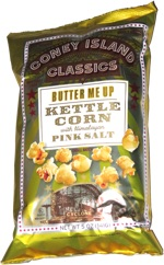 Coney Island Classics Butter Me Up Kettle Corn with Himalayan Pink Salt