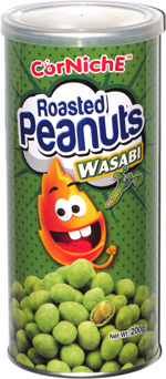 Corniche Roasted Peanuts Wasabi