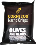 Cornitos Nacho Chips Olives and Herbs