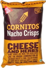 Cornitos Nacho Crisps Cheese and Herbs (Now More Cheesy)