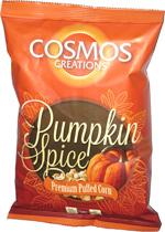 Cosmos Creations Pumpkin Spice Premium Puffed Corn
