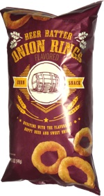 Beer Batter Onion Rings Corn Snack