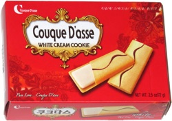 Couque D'asse White Cream Cookie