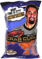 Maryland Crab Curls