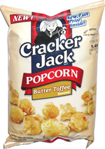 Cracker Jack Popcorn Butter Toffee