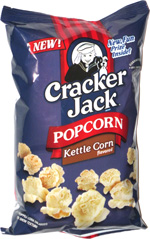Cracker Jack Popcorn Kettle Corn