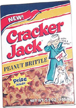 Cracker Jack Peanut Brittle
