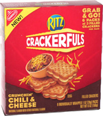 Ritz Crackerfuls Crunchin' Chili & Cheese