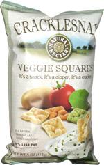 Cracklesnax Veggie Squares