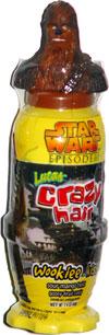 Star Wars Episode III Lucas Crazy Hair Wookie Kiss