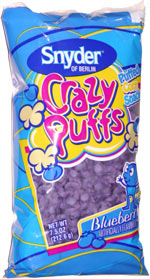 Crazy Puffs Blueberry Puffed Corn Snack