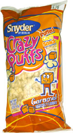 Crazy Puffs Caramel Puffed Corn Snack
