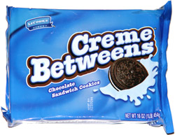 Lecour's Finest Creme Betweens Chocolate Sandwich Cookies