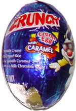 Nestle Crunch Creme Egg with Caramel