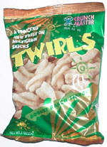 Crunch Master Twirls Robust Ranch Flavor