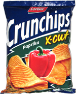 Crunchips X-Cut Paprika