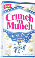 Crunch 'n Munch French Vanilla Sweet Glazed Popcorn